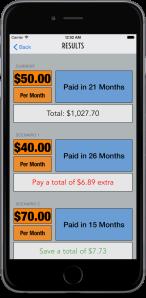 Debtor Comparison Results iPhone 6 Plus